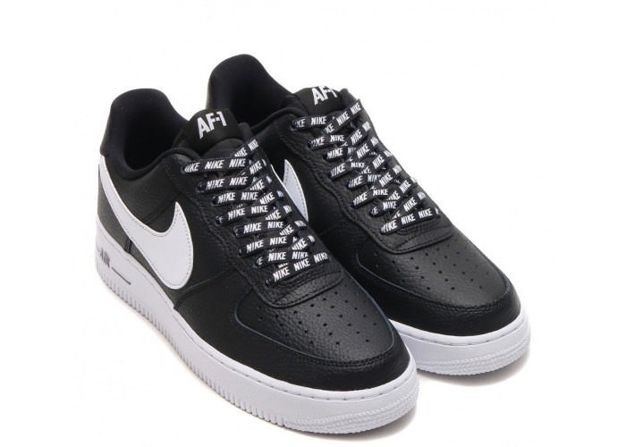 Кроссовки Nike Air Force 1 Low Black/White (36-45)