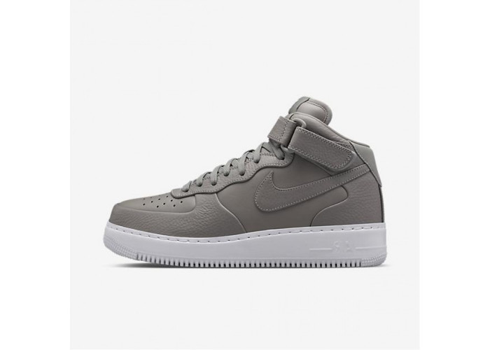 Кроссовки унисекс NikeLab Air Force 1 Mid Light Charcoal (36-45)