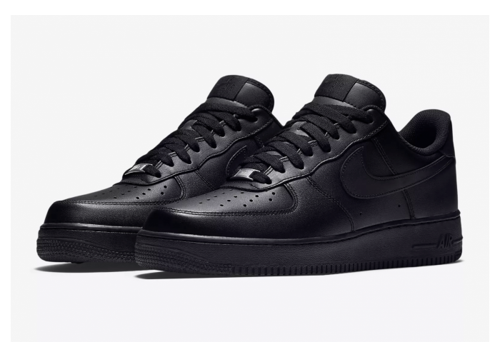 "Кроссовки Nike Air Force 1 Low 07 ""All Black""  (36-45)"