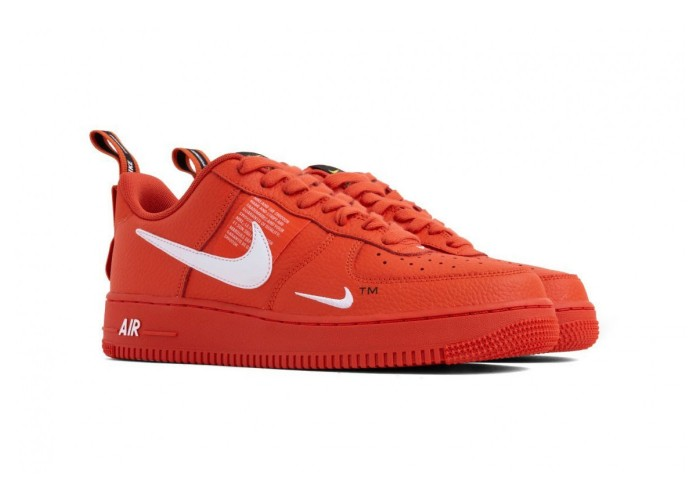 Кроссовки Nike Air Force 1 `07 LV8 Utility October Red (36-45)
