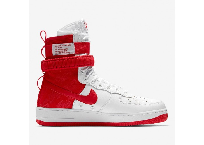 "Кроссовки Nike SF-AF1 High Returns In ""University Red"" (41-45)"