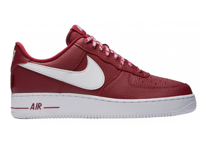Кроссовки Nike Air Force 1 `07 LV8 NBA Teame Red (36-45)