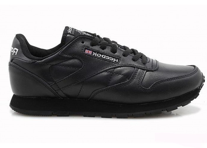 Кроссовки Reebok Classic Leather (All Black) (006)