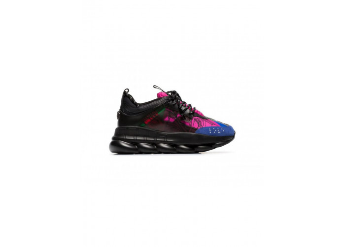 VERSACE CHAIN REACTION BLACK/BLUE (36-41)