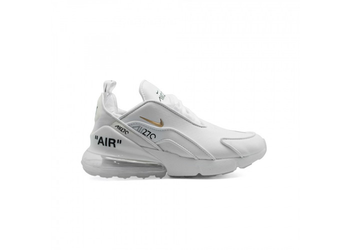 Кроссовки Nike Air Max 270 x OFF White Leather White