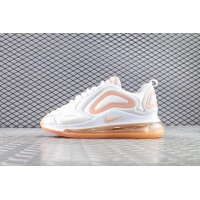 Женские кроссовки Nike Air Max 720 White Pink (Euro 36-40)
