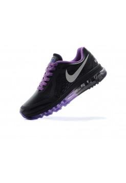 Женские кроссовки Nike Air Max 2014 (чёрный / фиолетовый)
