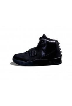 Женские кроссовки Nike Air Yeezy 2 nrg all (чёрный)