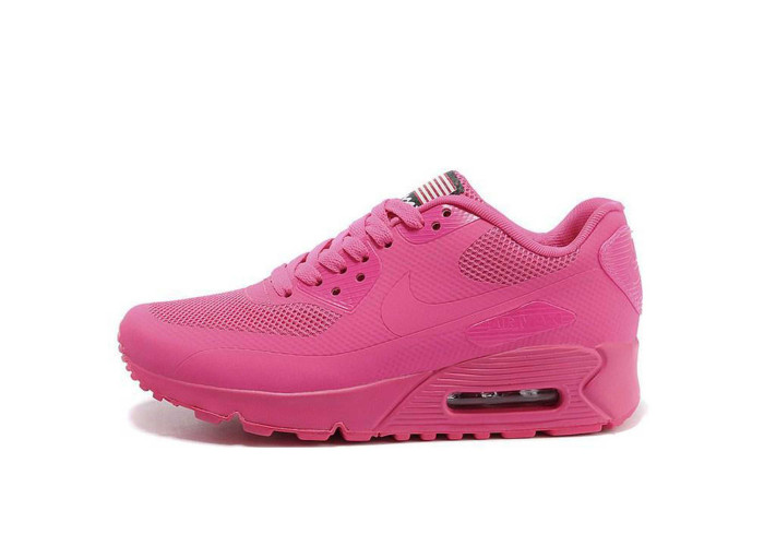 Женские кроссовки Nike Air Max 90 hyperfuse 2013 pink