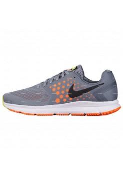 Женские кроссовки Nike Air Zoom Span (серо-оранжевый)