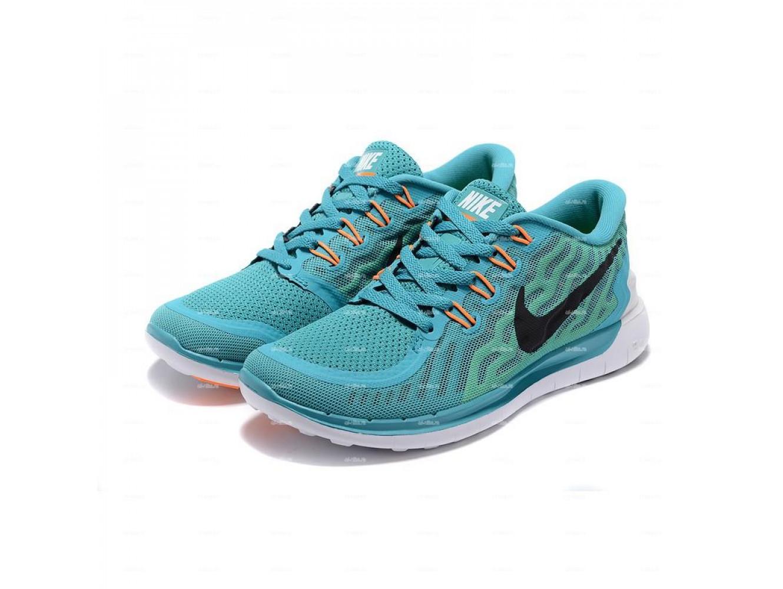 949137d6 Женские кроссовки Nike Free 5.0 (бирюзовый) купить в дисконт ...