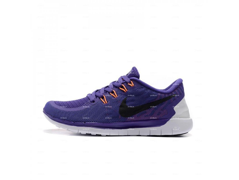 cf38676c Женские кроссовки Nike Free 5.0 (фиолетовый) купить в дисконт ...