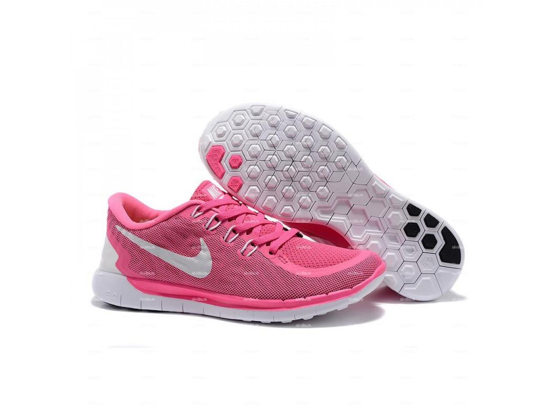 bf2e2864 Женские кроссовки Nike Free 5.0 (розовый) купить в дисконт интернет ...