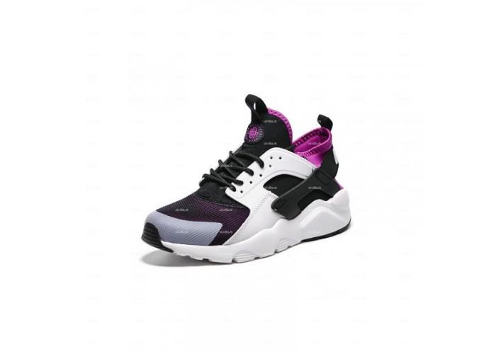 Женские кроссовки Nike Air Huarache (черно-белый)