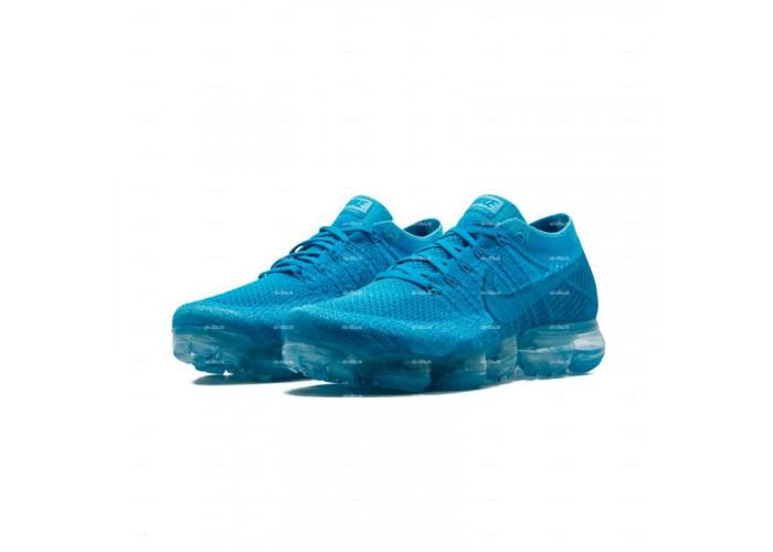 Женские кроссовки Nike Air Vapormax Flyknit  (голубой)