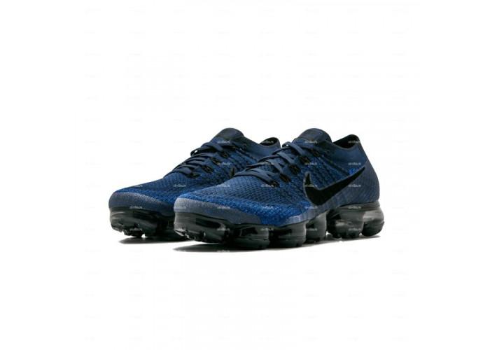 Женские кроссовки Nike Air Vapormax Flyknit (синий)