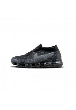 Женские кроссовки Nike Air Vapormax Flyknit (черно-серый)