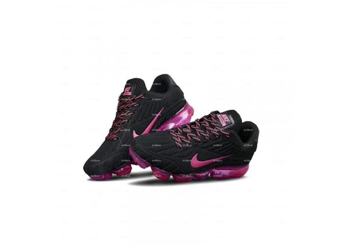 Женские кроссовки Nike Air Vapormax 2018 (черный-розовый)