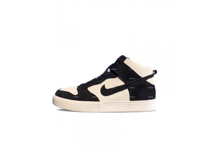 Мужские кроссовки Nike Dunk (черно-белый)