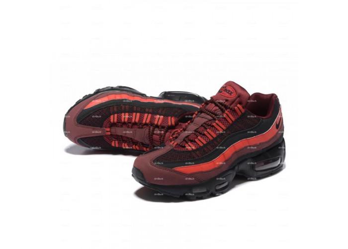 Мужские кроссовки Nike Air Max 95 (красно-черный)