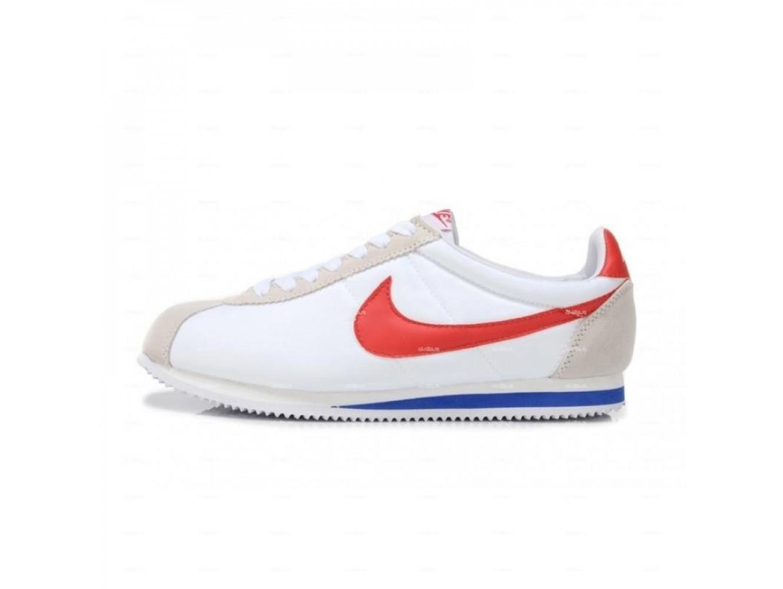 8a0c505e Мужские кроссовки Nike Cortez Classic Nylon (белый) купить в дисконт ...