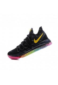 Мужские кроссовки Nike Zoom KD 10 (черный)