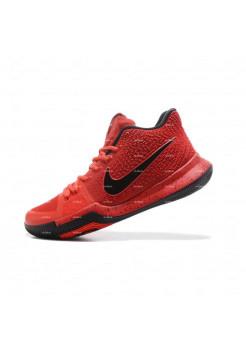 Мужские кроссовки Nike Kyrie 3  (красный)