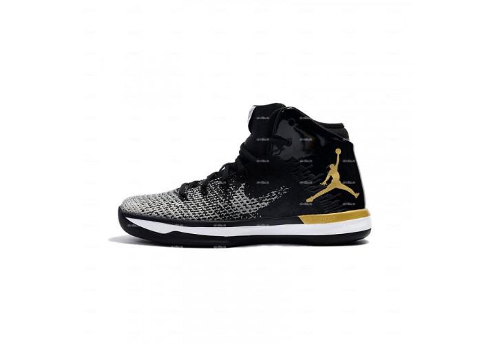 Мужские кроссовки Nike Air Jordan 31 (черно-серый)