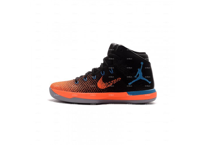 Мужские кроссовки Nike Air Jordan 31 (оранжево-черный)